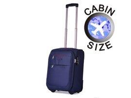 "Mała walizka ""MINI"" PUCCINI EM-50307 Camerino granatowa"