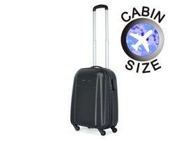 Mała walizka PUCCINI ABS02 C czarna