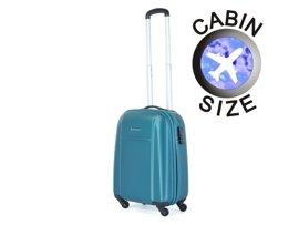 Mała walizka PUCCINI ABS02 C turkusowa
