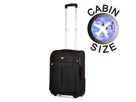 Mała walizka PUCCINI EM-50308 Latina czarna